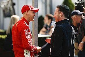 Horner weet: Vettel is normaal juist 'zeer goed' onder druk