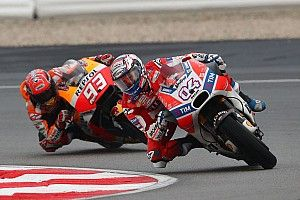 Marquez: No point risking crash for early title chance