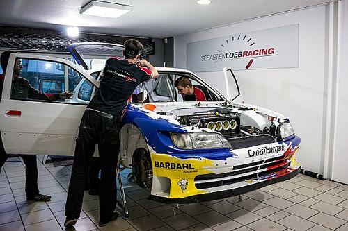 Fotogallery: la preparazione della 306 Maxi di Loeb per il Rally du Var