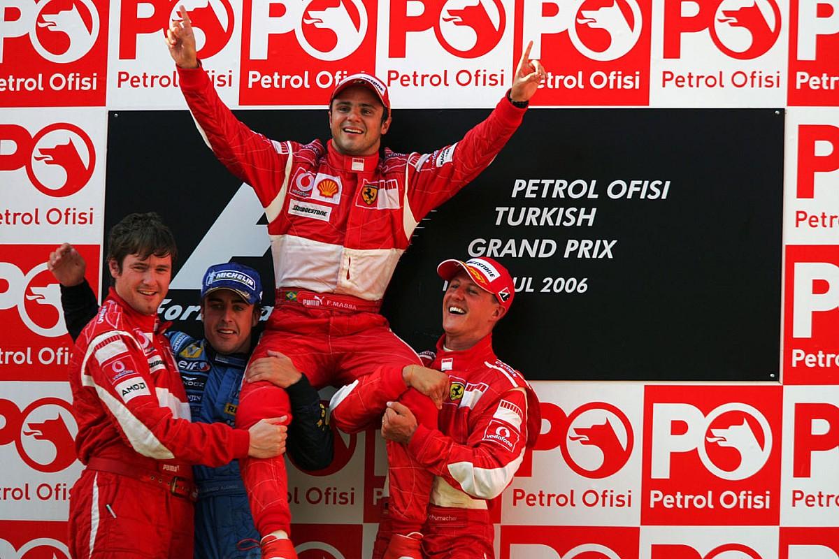 """Massa fala como foi ter Schumacher e Alonso como companheiros de equipe: """"Sofri um pouco mais com Fernando"""""""