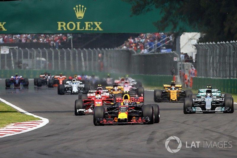 Liberty evalúa modificar los circuitos de F1 para mejorar el espectáculo