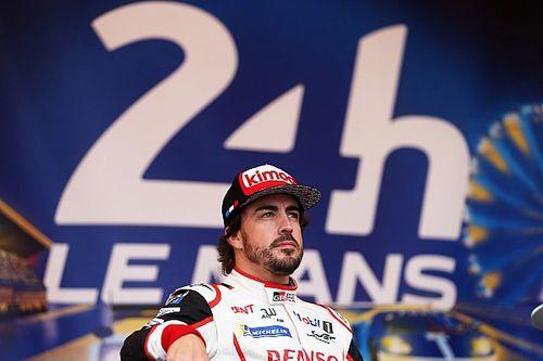 """Alonso : """"Le Mans es como 16 grandes premios de F1 en una sola carrera"""""""