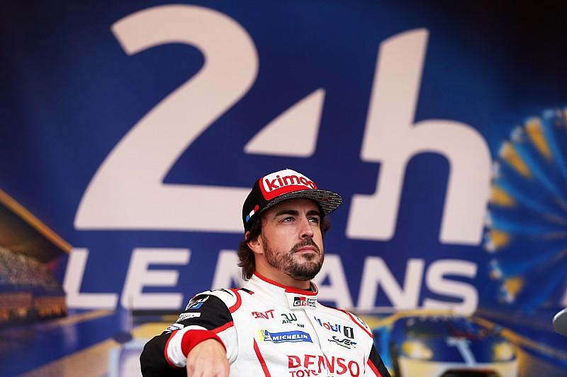 """Le Mans son """"16 grandes premios de F1 en una carrera"""", dice Alonso"""
