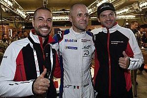 """Bruni: """"Bello festeggiare la pole a Le Mans per il 70esimo anniversario Porsche"""""""