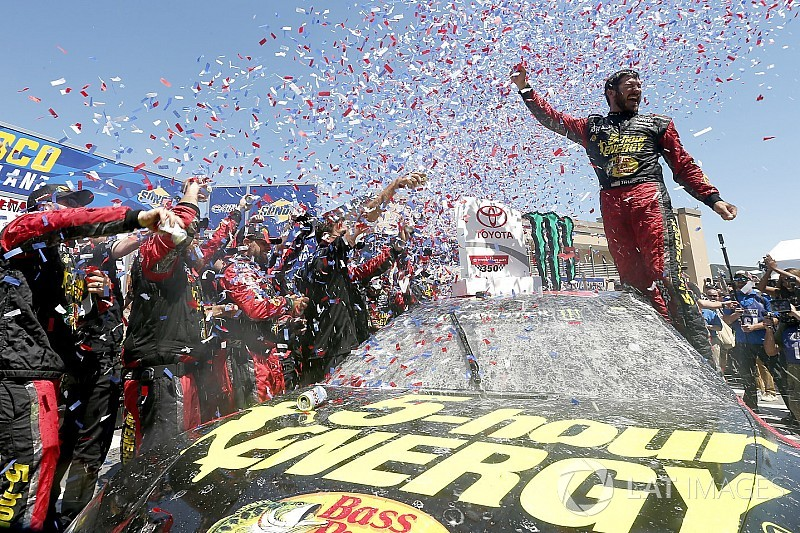 Truex takes Sonoma win after pit strategy works to perfection