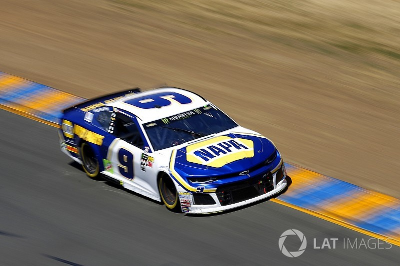 "Chase Elliott content with top-five at ""one of my worst"" tracks"