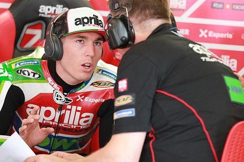 """Aprilia: Aleix Espargaro dichiarato """"unfit"""" dopo il crash nel Warm-Up. Non correrà al Sachsenring"""