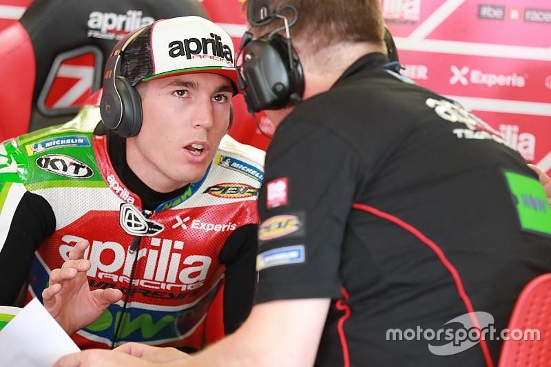 Aleix Espargaro dichiarato fit per il weekend di Brno dopo il brutto botto del Sachsenring