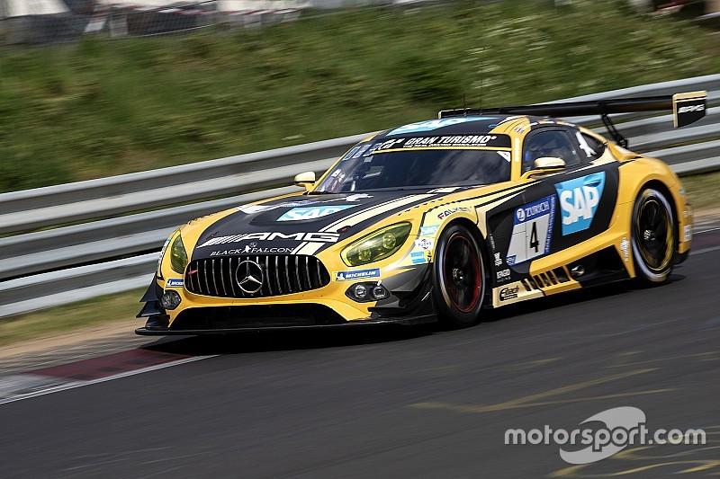 24 uur Nürburgring: Porsche en Mercedes duelleren om koppositie na 18 uur