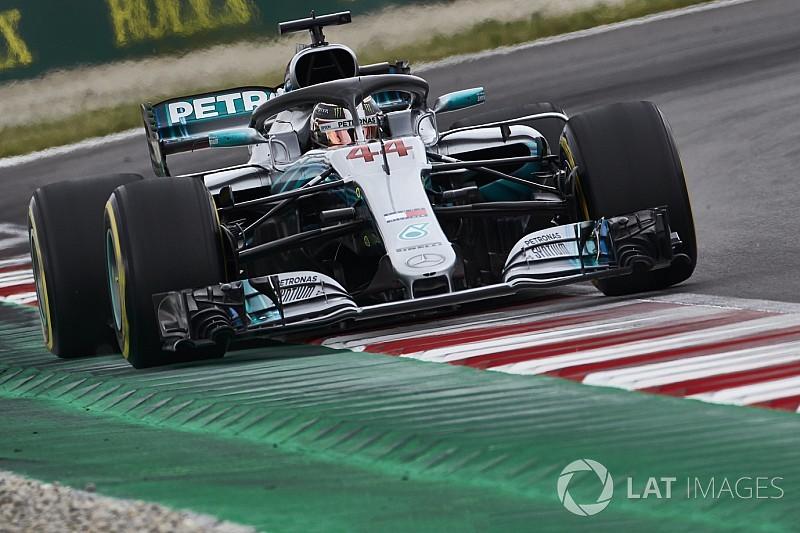Hamilton vince in Spagna, Mercedes firma la doppietta. Vettel quarto