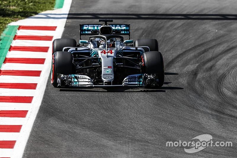 Mercedes se mantuvo adelante antes de clasificar
