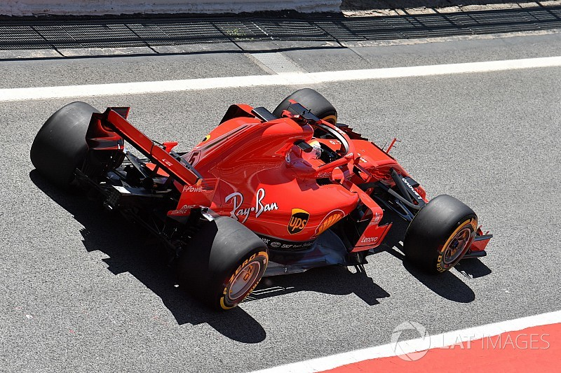 "Vettel: Ferrari would've been ""worse off"" on standard Pirellis"