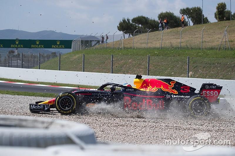 Los pilotos de Red Bull, motivados con las actualizaciones del RB14