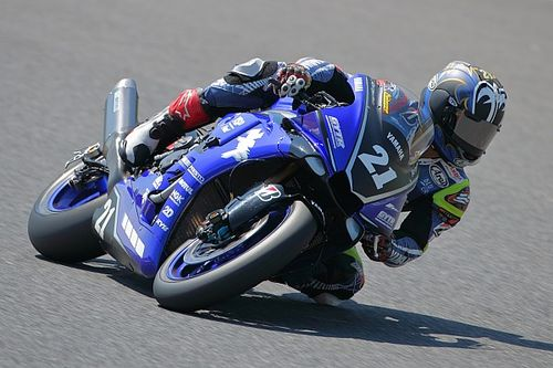 中須賀克行、驚速ラップを記録! 開幕5レース連続ポールポジション
