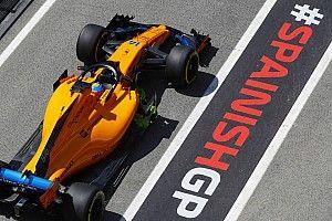 Error en el pitlane del GP de España