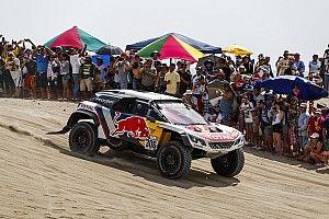 Loeb spreekt van verschrikkelijke start Dakar Rally