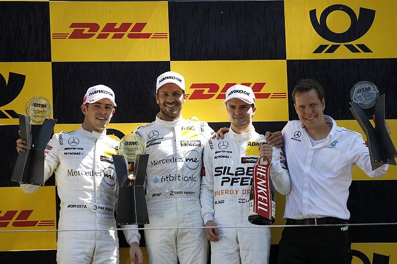 Tarolt a Mercedes Zandvoortban - Paffett nyerte a DTM szombati futamát