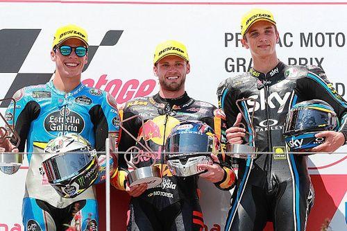 Binder signe sa première victoire en Moto2 !