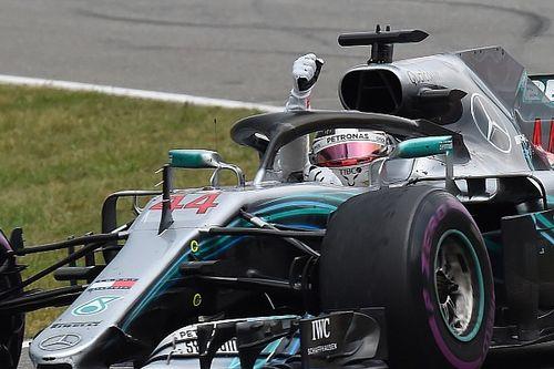 Hamilton mantiene la victoria en Alemania tras una reprimenda