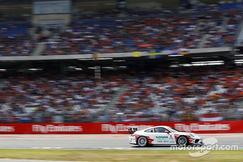 Nürburgring: Van Lagen setzt sich am Samstag durch