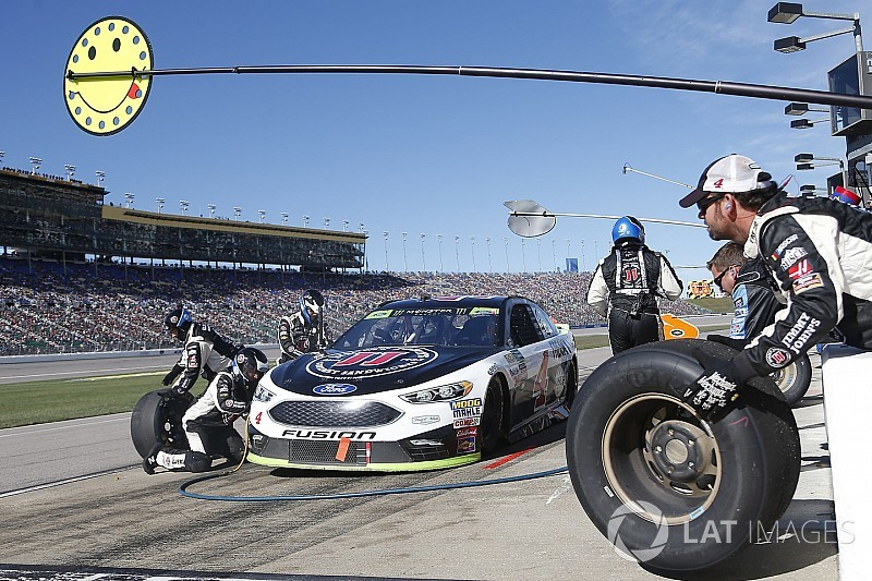"""Kevin Harvick: New pit road rules will require """"some patience"""""""