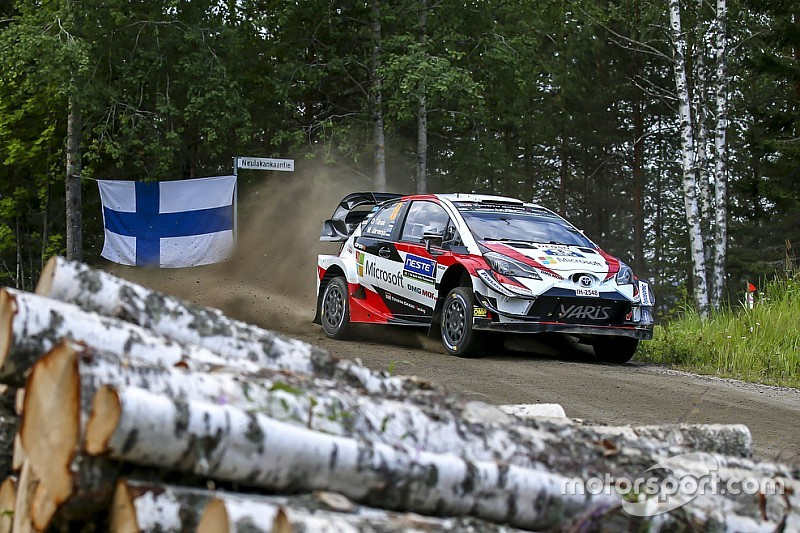 ES6 à 9 - Tänak et Østberg s'échangent la première place