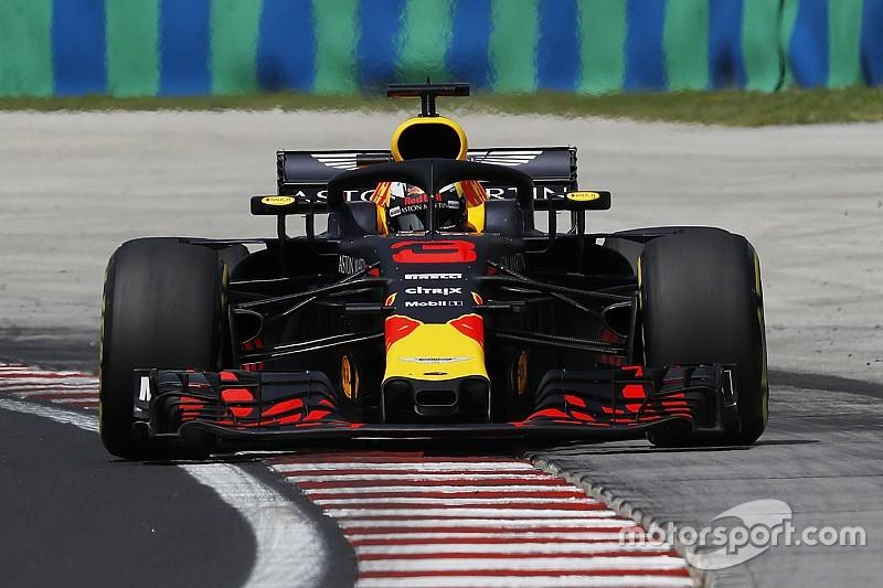 Ricciardo zet de toon met snelste tijd in Hongarije, Verstappen derde