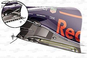 Технический брифинг: как в Red Bull подсмотрели у McLaren решение днища