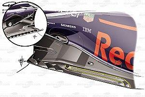 Análisis técnico: cómo Red Bull copió la parte inferior de McLaren