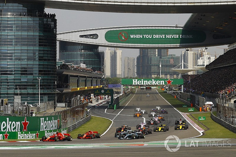 F1 confirma a China como sede del GP mil de la historia