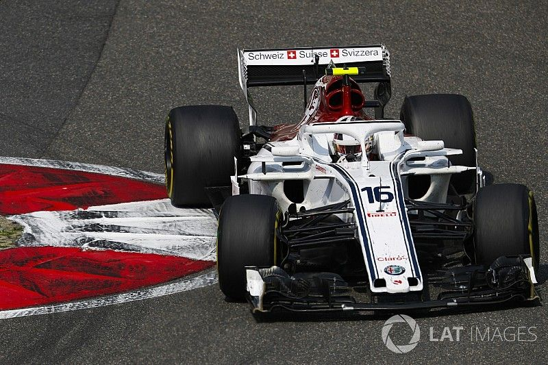 """Leclerc confused by """"very strange"""" spin"""