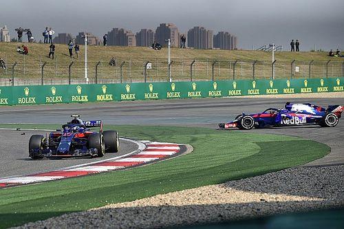 """Gasly over aanrijding Toro Rosso: """"Misverstand met Hartley"""""""