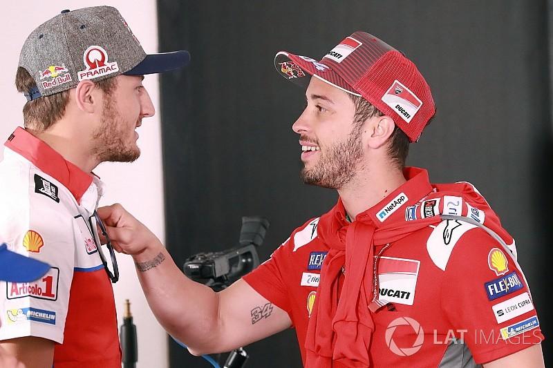 Dovizioso apuesta por Petrucci o Miller como sustitutos de Lorenzo en Ducati