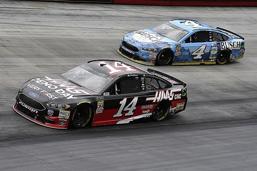 """Kevin Harvick and SHR keeping their """"eyes on the prize"""""""
