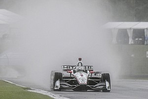 IndyCar-race op Barber gestaakt om regen, restant op maandag
