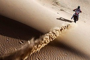 Merzouga Rally: Barreda extends lead with stage win, despite fall