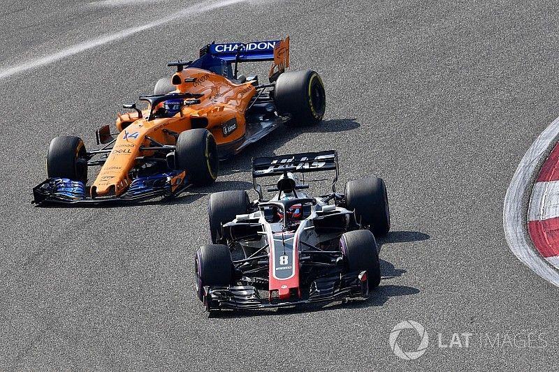 "Haas: McLaren et Renault ont eu ""de la chance"" jusqu'ici"