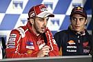 Dovizioso anggap Marquez akan sulit dikalahkan