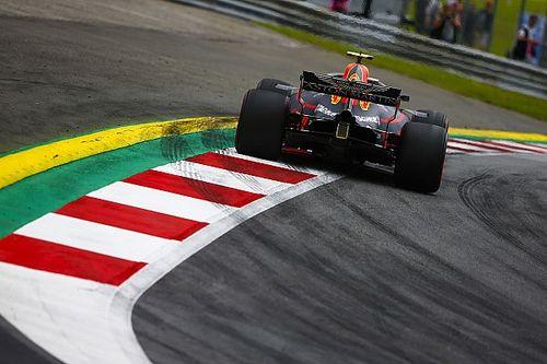 Verstappen treinou com assoalho danificado na Áustria
