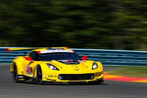 """We can't be depressed by second,"" says Corvette's Garcia"