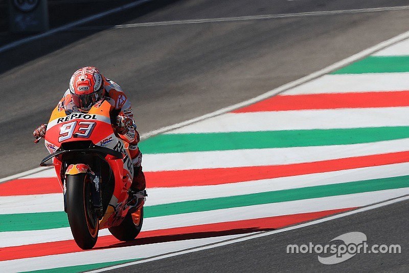 """La bosse de San Donato, un endroit """"limite"""" pour le MotoGP"""