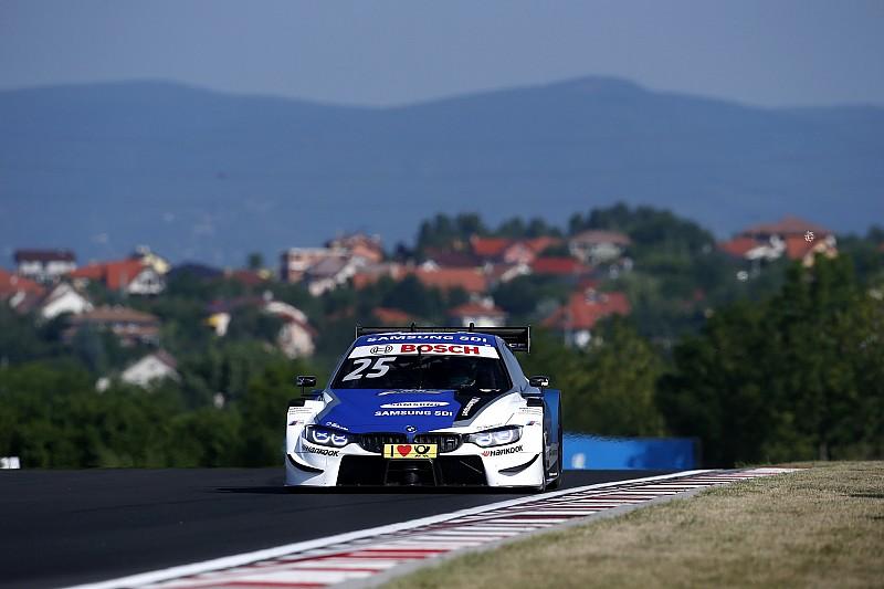 Zweites DTM-Podium für Rookie Philipp Eng