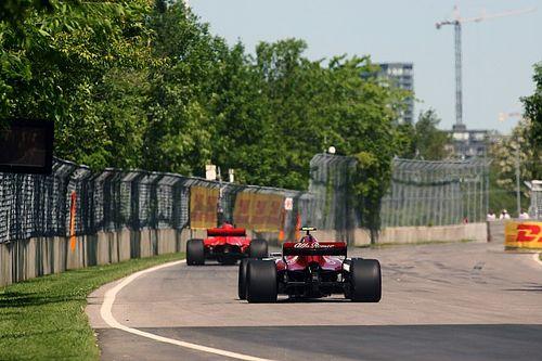 Startaufstellung: Grand Prix von Kanada der Formel 1 2018