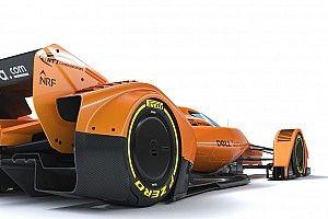 Концепт McLaren для Ф1 в цветах папайи: фото