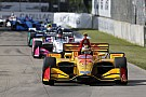 IndyCar IndyCar Detroit: Hunter-Reay wint na fout Rossi