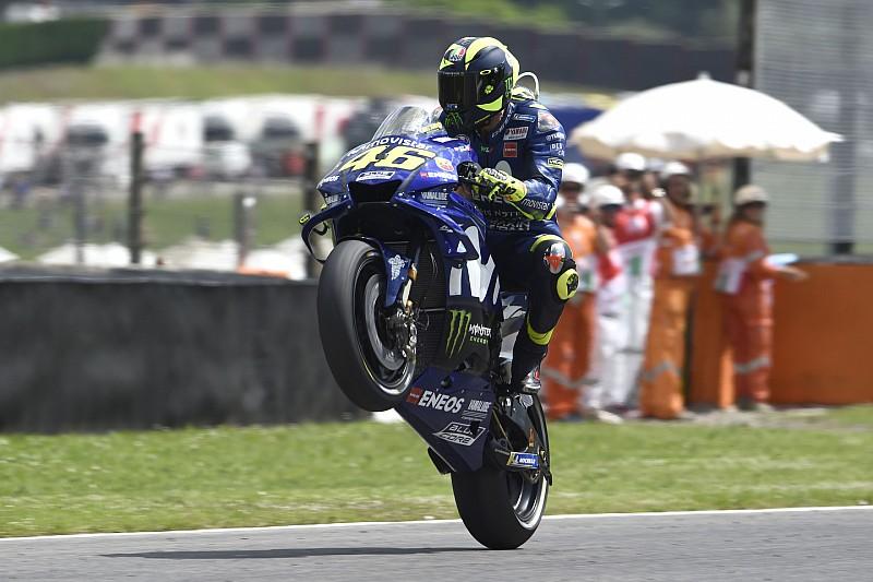 Rengeteg látványos kép az Olasz Nagydíjról: Marquez, Lorenzo, Rossi…