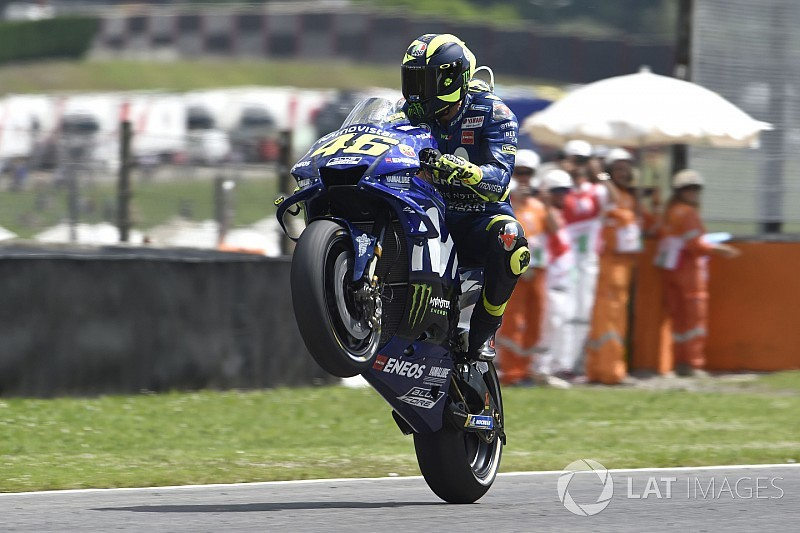 Il Mugello è di nuovo Mugiallo: la pole è di Valentino Rossi!