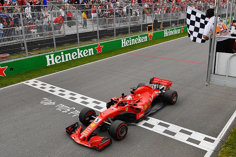 Kanada GP: Vettel kazandı ve şampiyona liderliğine yükseldi!