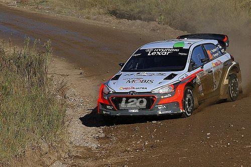 Argentina WRC: Paddon inherits lead as Latvala crashes