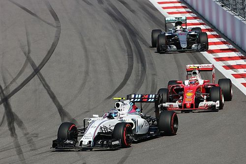 "Fourth ""was the limit"" for Williams in Russia, says Bottas"